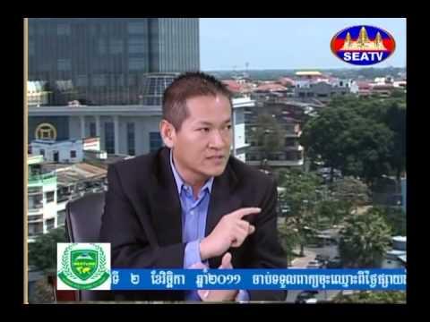 Interview Mr Siev Sophal at SEA TV