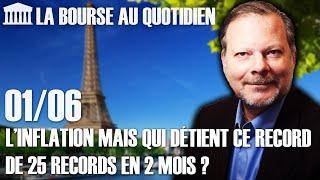 Bourse Au Quotidien - Mais Qui Détient Ce Record De 25 Records En 2 Mois ?