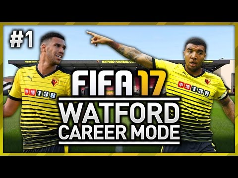 WATFORD CAREER MODE - EPISODE #1 (FIFA 17)