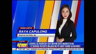 DZMM TeleRadyo: Manila police natakasan ng preso