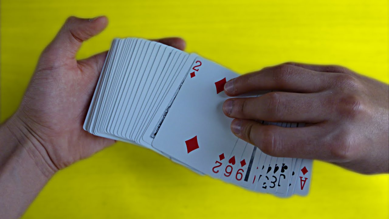 tour de magie carte melange