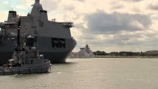MP3 MBA Aankomst Karel Doorman in Den Helder Photo