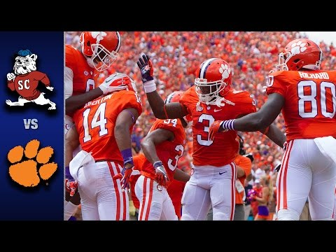 Clemson vs. SC State Football Highlights (2016)