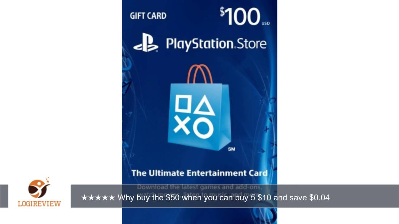 100 playstation store gift card ps3 ps4 ps vita digital code review test youtube. Black Bedroom Furniture Sets. Home Design Ideas