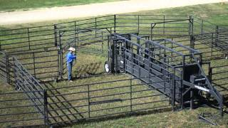 Rawhide Portable Corral On The American Rancher