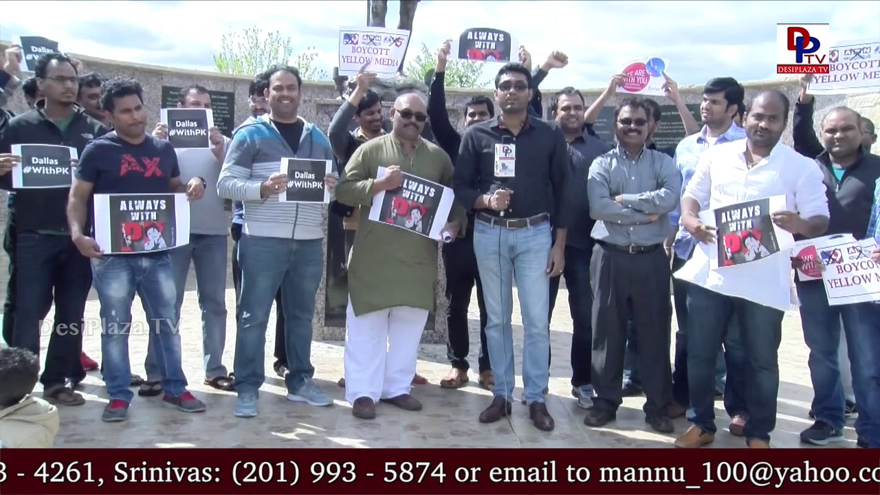 'We support Pawan Kalyan' - NRI's show the power of Pawan Kalyan's Janasena | Dallas #WithPK | DPTV