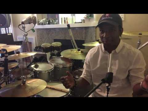 "Chad Wright - The Breakdown - ""Shake Your Body"" drum cover part 1 - Recording Method"