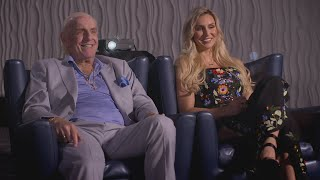 Charlotte and Ric Flair look back on the most surreal match of her career on WWE Photo Shoot