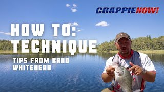 Gambar cover Crappie NOW How To Brad Whitehead