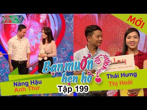 Năng Hậu - Anh Thư | Thái Hưng - Thị Hoài | BẠN MUỐN HẸN HÒ | Tập 199 | 04/09/2016