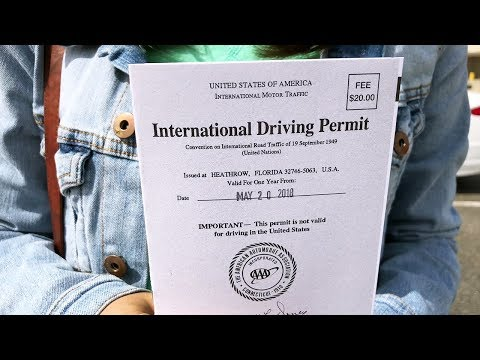 How To Get An International Driving Permit