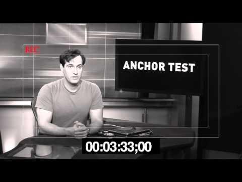 Carl Azuz's Anchor Test