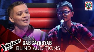 Gab Cayabyab - Demonyo | Blind Audition | The Voice Teens Philippines 2020