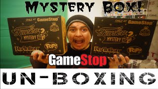 Gamestop Funko Mystery Box! Black Friday Exclusive Unboxing