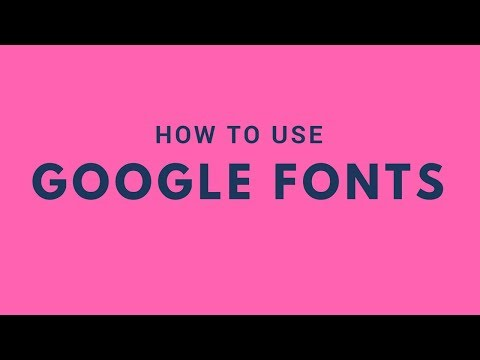 How To Use Google Web Fonts In Your Website Design