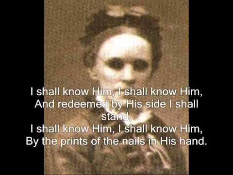 My Saviour First Of All (hymn) - Fanny J. Crosby