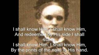 My Saviour First Of All (hymn) - Fanny J. Crosby