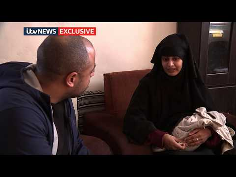 Shamima Begum interview: The moment IS bride learns she's lost UK citizenship | ITV News