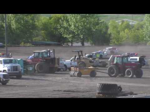 Nodak Speedway IMCA Sport Mod Heats (5/21/17)