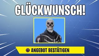 FORTNITE SKINS VERSCHENKEN FUNCTION! At last!