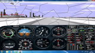 Microsoft Flight Simulator for Windows 95 on windows 7 INSTALL + RUN [HD]