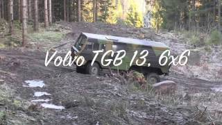 Driving more Volvo tgb 13, 6x6