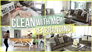 Baixar CLEAN WITH ME! REARRANGING | Living Room & Kitchen