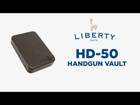 Liberty Safe HD-50 Handgun Vault
