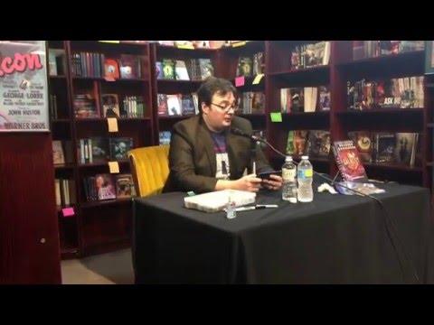 Brandon Sanderson reading Stormlight Archives Vol. 3