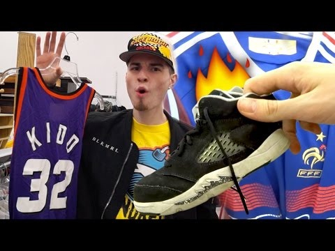 A Trip to the Thrift #111 2 Jordan Cops, Vintage Champion Jerseys, and Hella Streetwear!