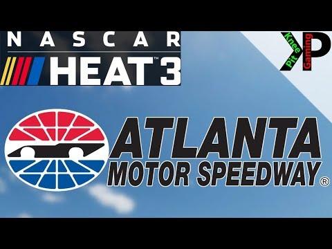 NASCAR Heat 3 - Atlanta Setup for Trucks, Xfinity, and Cup