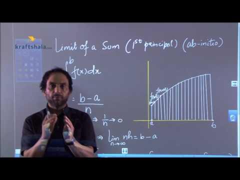 Limit Of A Sum Definite Integration (explanation)