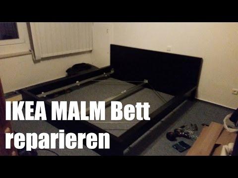 Ikea Malm Bett reparieren und verstärken