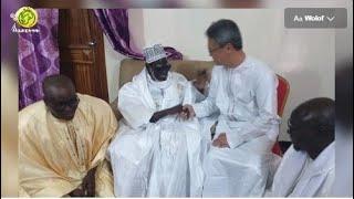 L'ambassadeur du Japon au Sénégal S.E.M.Tatsuo ARAI en visite auprès du khalif Général des Mourides