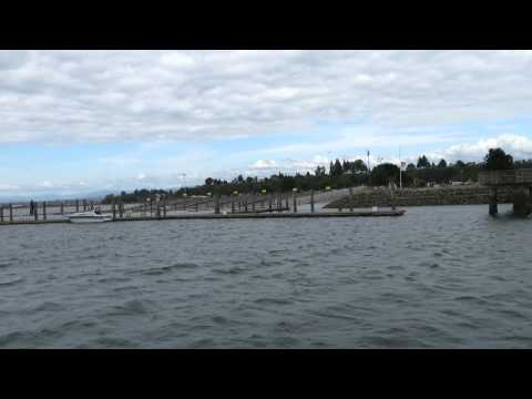 Jetty Island ferry off the coast of Everett Washington the whole trip back less then 2 minutes MVI 7