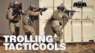ARMA 3 RHS KOTH: Trolling Tacticools - all the gear no idea...