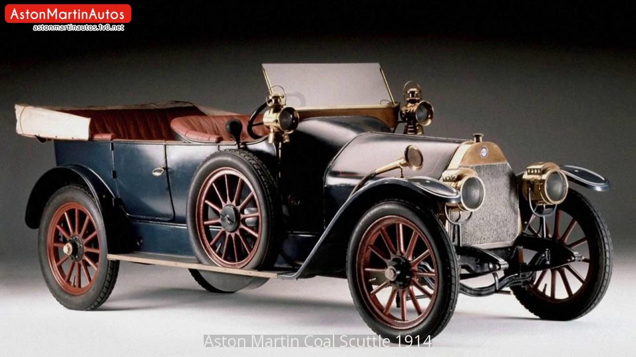 Aston Martin Coal Scuttle 1914 Youtube