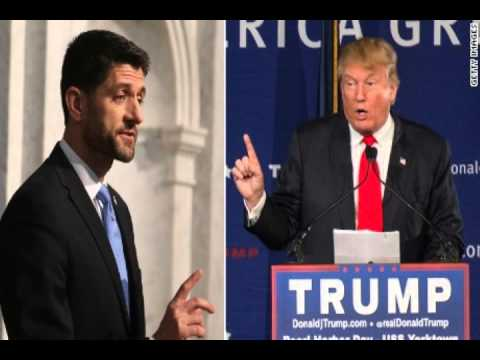 Donald Trump to Paul Ryan: Maybe We Need a New Speaker