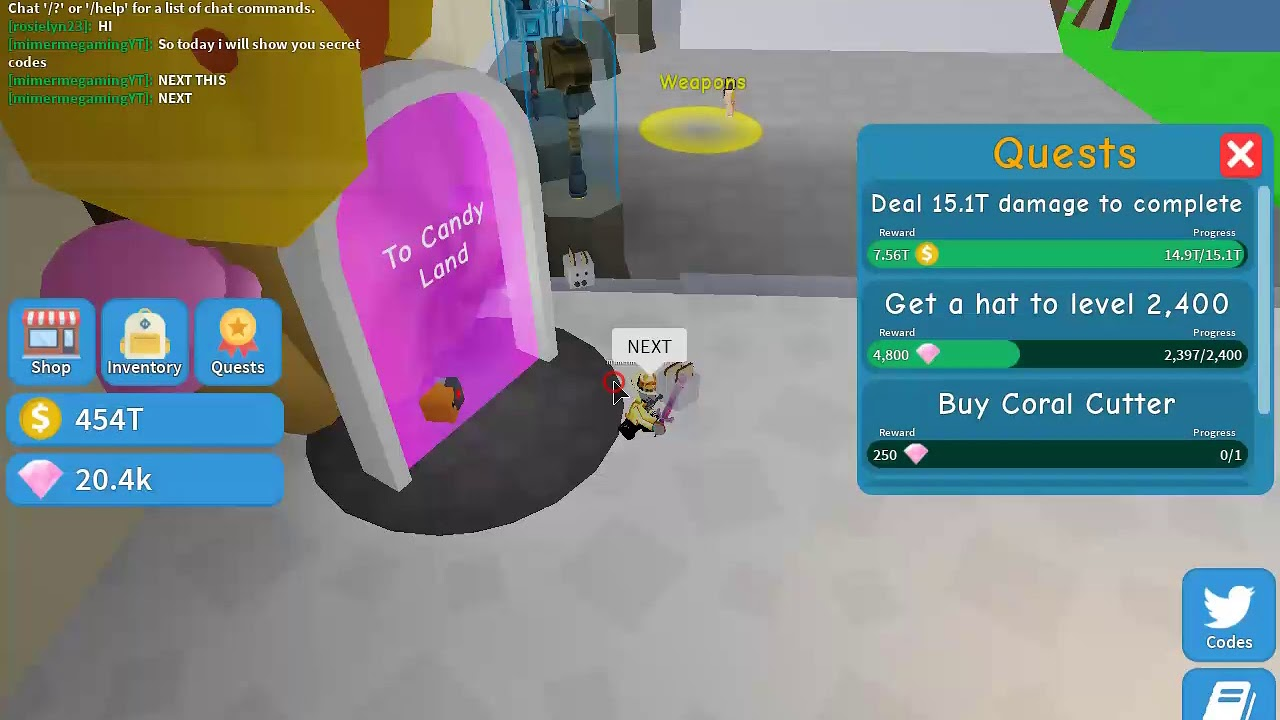 Roblox All Secret Codes in Unboxing simulator