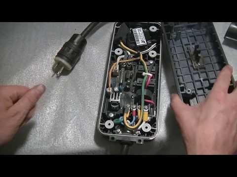 Ремонт и переделка зарядного устройства Nissan Leaf.  Часть 1. Разборка и осмотр.
