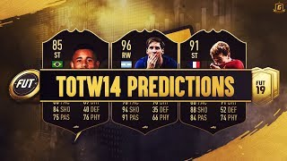 FIFA 19 TOTW 14 Predictions FT IF Messi, IF Griezmann, IF Jesus