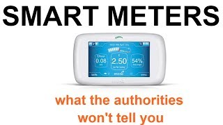 SMART METERS: what you wont hear from the authorities!