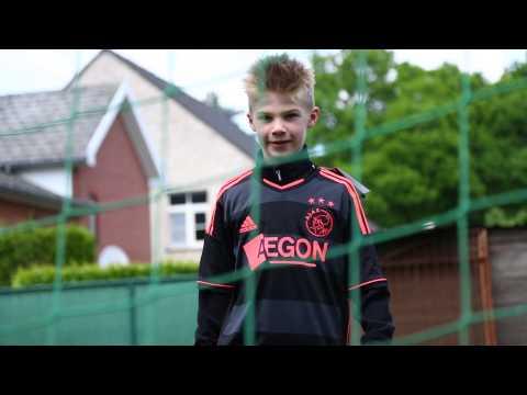 Wensvervulling Aron bij Rode Duivels (FC Robinstijn)