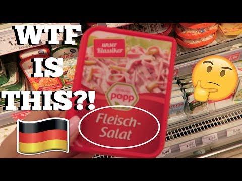 WEIRD GERMAN FOODS IN THE SUPERMARKET