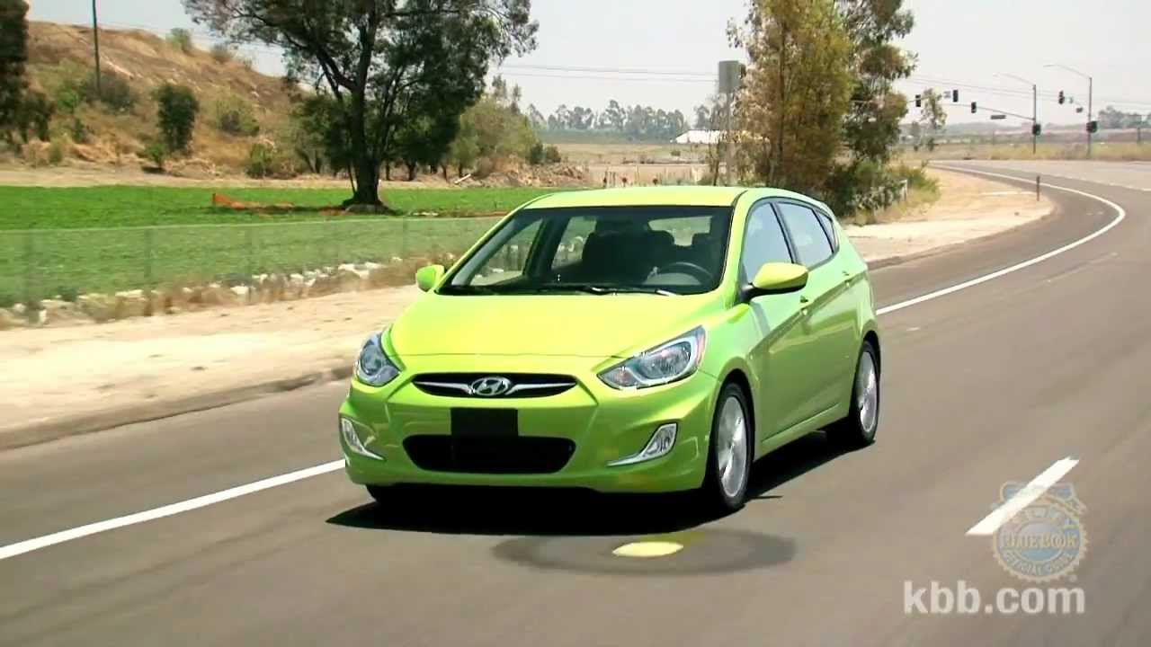 2012 Hyundai Accent Review   Kelley Blue Book   YouTube