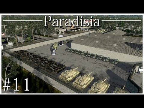 Cities: Skylines - Military Base Pt. 3 (Ep. 11)