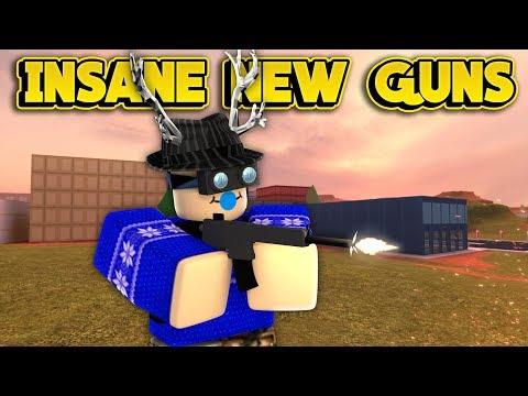 INSANE NEW GUNS NEXT UPDATE! (ROBLOX Jailbreak)