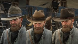 Red Dead Redemption 2 - Cattleman Hat / Cutter Hat / Rodeo Hat Location (Found/Stolen Hats)