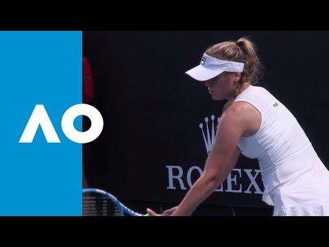 Sofia Kenin v Veronika Kudermetova match highlights (1R) | Australian Open 2019