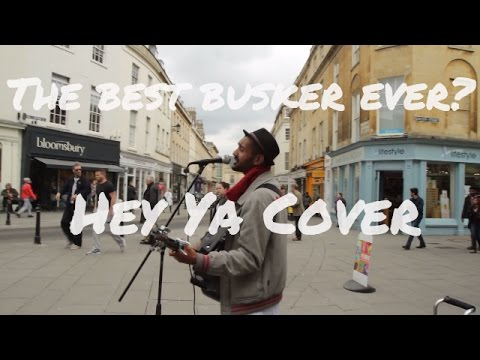 The best busker ever - Hey ya - OutKast (cover)